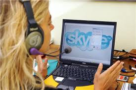 Talk to a therapist online through Skype