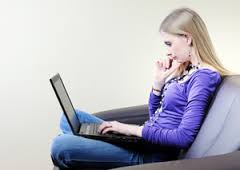 Online therapy via Skype for anxiety and depression.