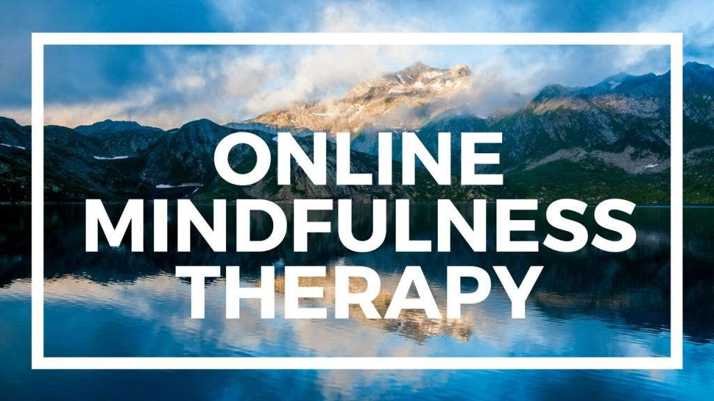Mindfulness-based Skype therapy sessions for the treatment of anxiety and depression.